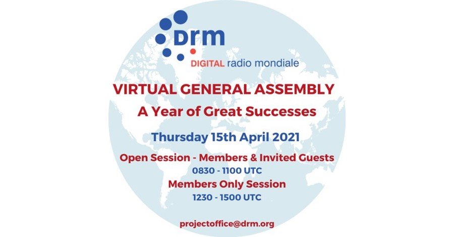 Digital Radio Mondiale™ (DRM) Consortium to Review Successful 2020 and Set Strategy for 2021- 2022.