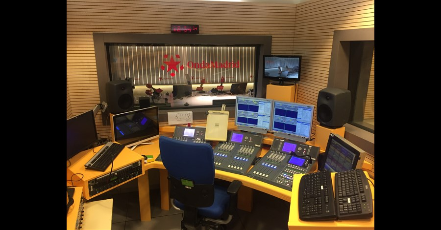 Onda Madrid installs AEQ ARENA audio mixing console in its new digital studio.