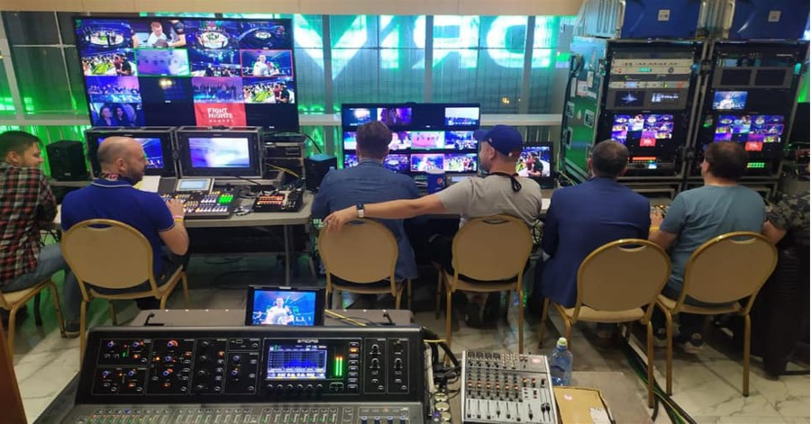Russian Production Company LOGOS TV upgrades its OB Van with AEQ Intercom system.