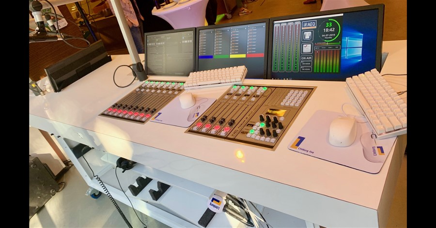 L1MBURG RADIO upgrades its new mobile studio with AEQ FORUM IP SPLIT console.