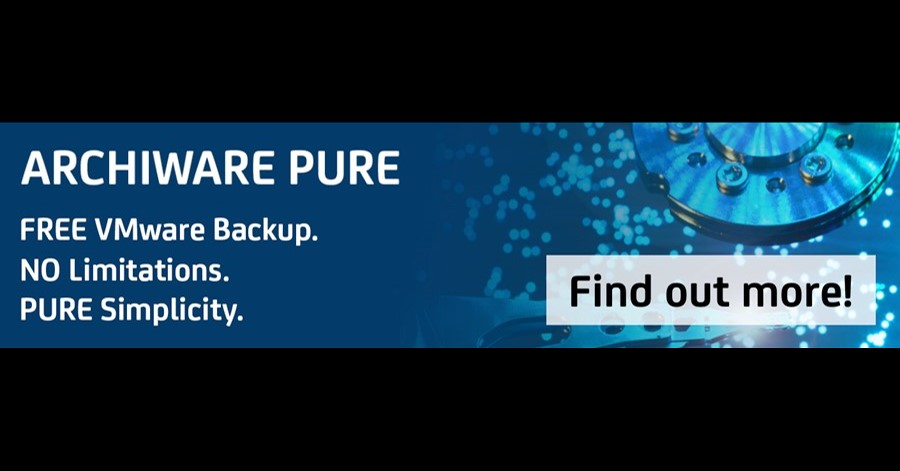 Archiware Releases Pure VMware Backup Version 3.0.