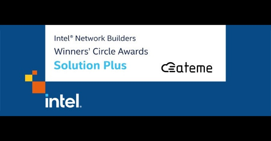 ATEME Receives INTEL® Network Builders Winners' Circle Award as Solution Plus Partner.