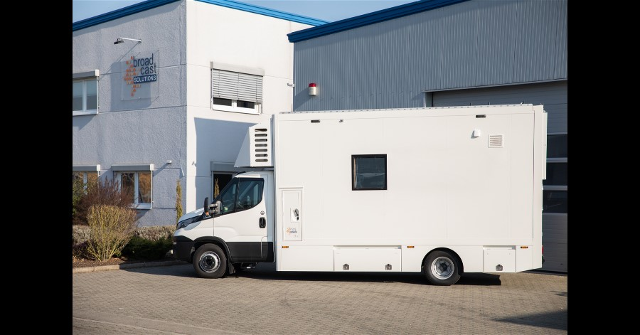 Broadcast Solutions And WDR Build Two New Radio OB Vans.