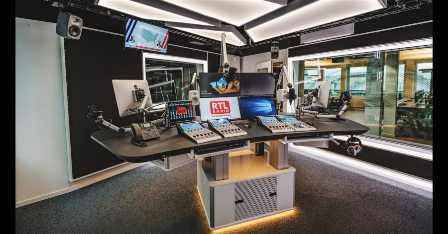 DHD Audio Production Platform Chosen for RTL Audio Center Berlin.