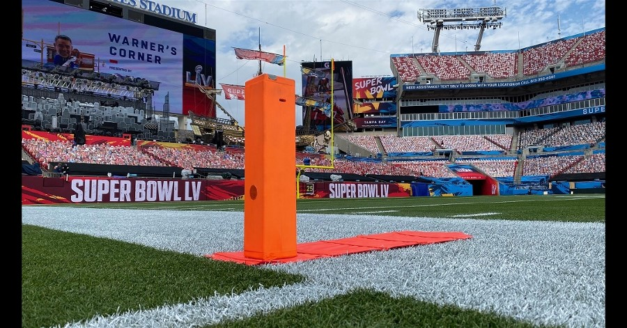 Dream Chip Pylon Camera Changes the Game at Superbowl 2021.