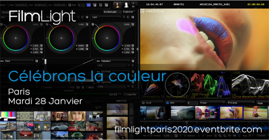 FilmLight teams up with ARRI in Paris creative community.