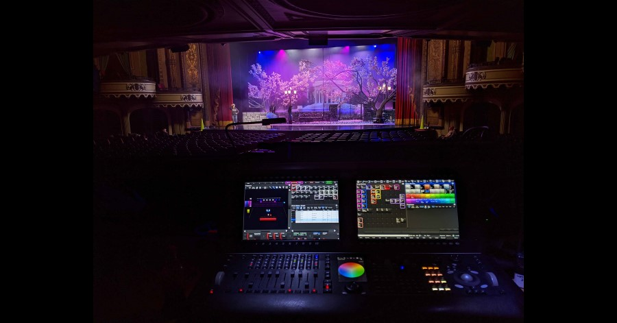 High End Systems fixtures take center stage on The Prom.