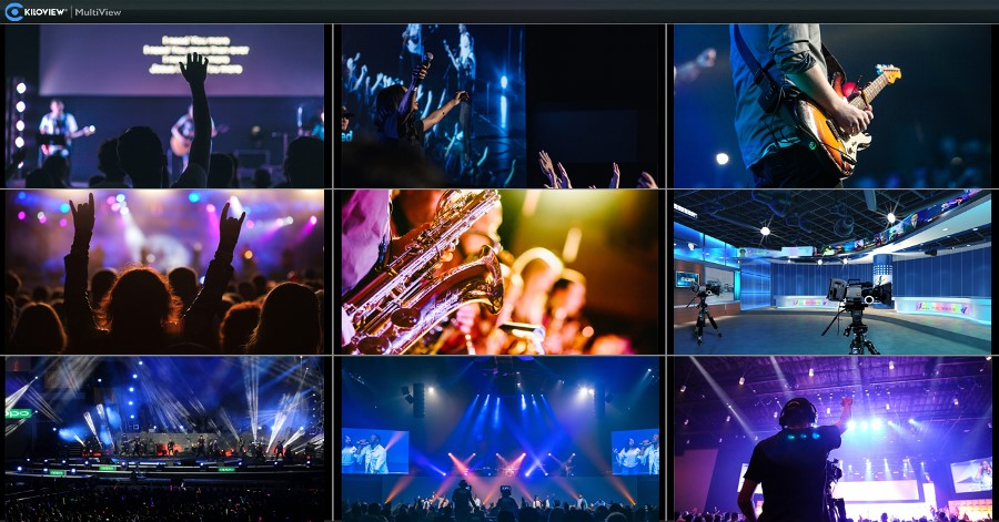 Big Hit - Kiloview Releases Free NDI® Multiview Player.