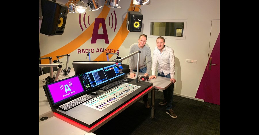 Radio Aalsmeer Puts Lawo Crystal & RƎLAY On The Air.
