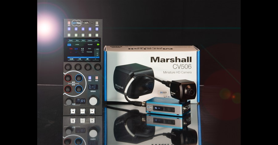 Marshall Partners with CyanView to Expand its Camera Capabilities.