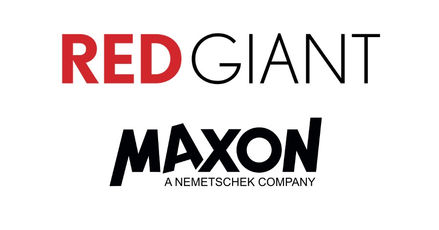 Maxon and Red Giant to Combine Forces.