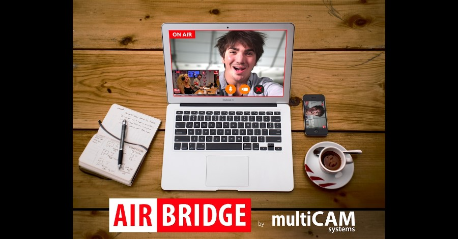 multiCAM AIRBRIDGE+ Makes Remote Production Easy.