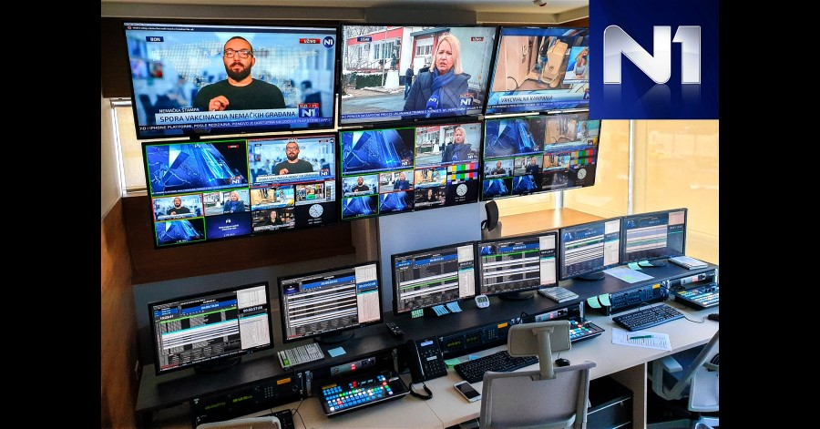 N1 TV Balkans Broadcast Network Transitions to PlayBox Neo.