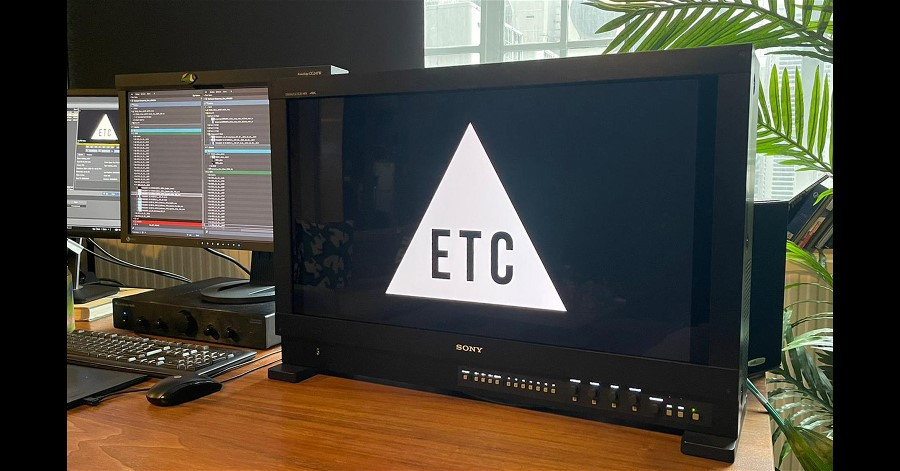 ETC Chooses Sony BVM-HX310 from Big Pic Media for 4K/UHD HDR Grading.