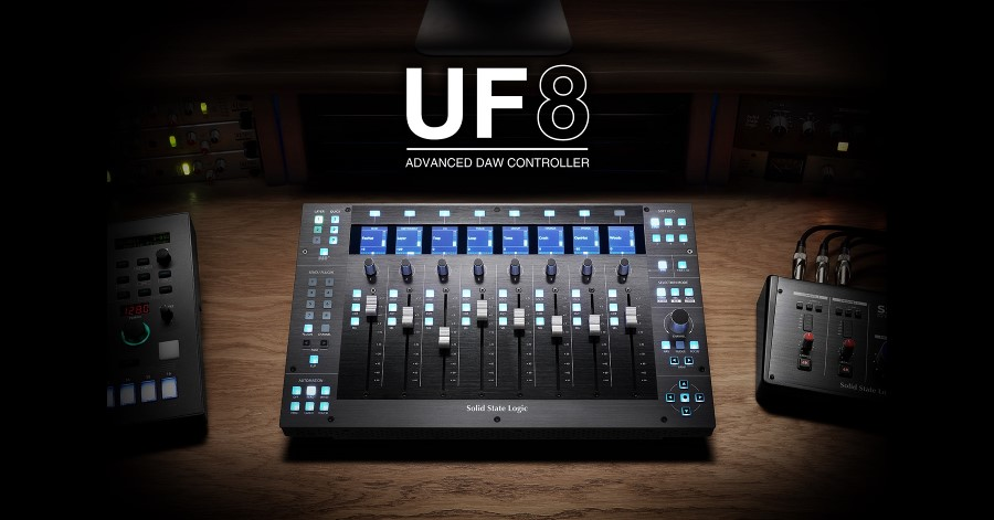 Introducing UF8 Advanced DAW Controller
