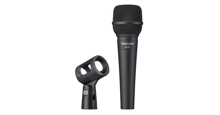 TASCAM Introduces the TM-82 Dynamic Microphone.