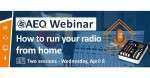 AEQ Webinar - How to run your radio from home.