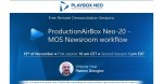 Webinar: ProductionAirBox Neo-20 - MOS Newsroom workflow.