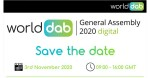 The WorldDAB General Assembly 2020 is now virtual.