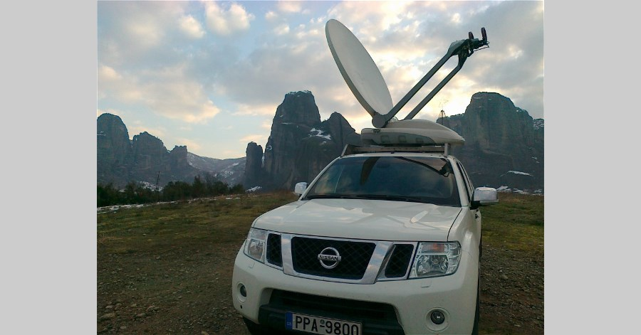 Regional TV Station THESSALIA TV upgraded its DSNG Vehicle in Full HD!